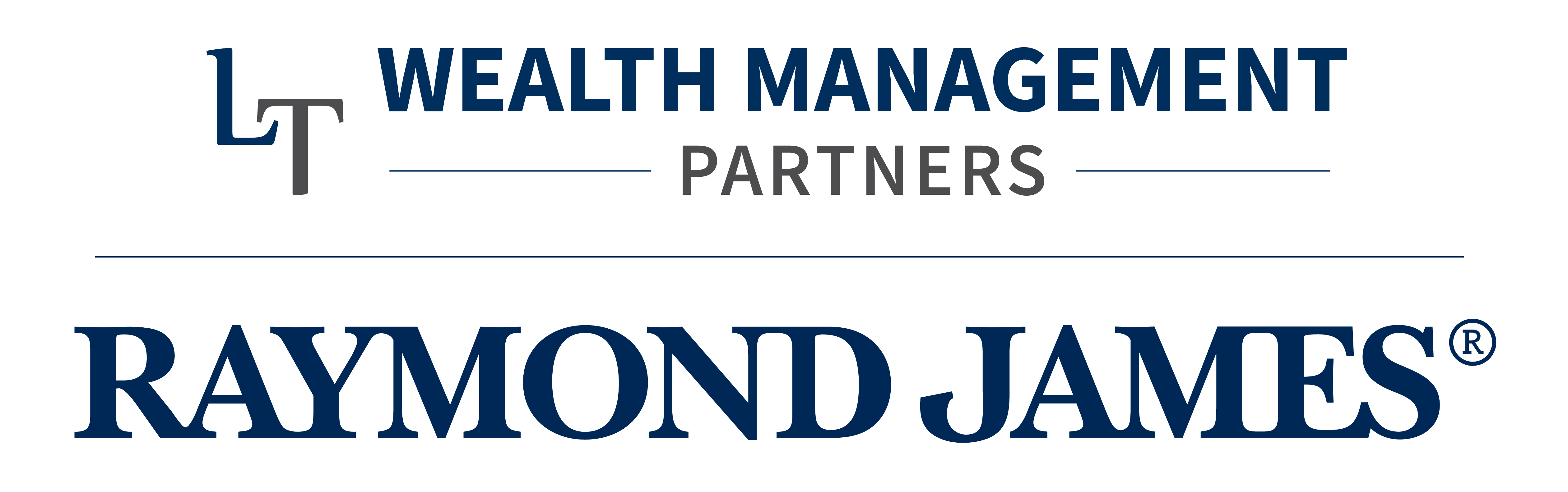 LT Wealth Raymond James Co-branded Logo