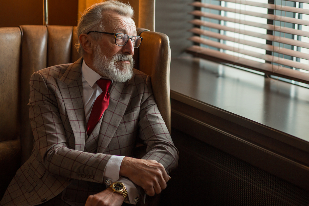 Sophisticated Retiring Lawyer
